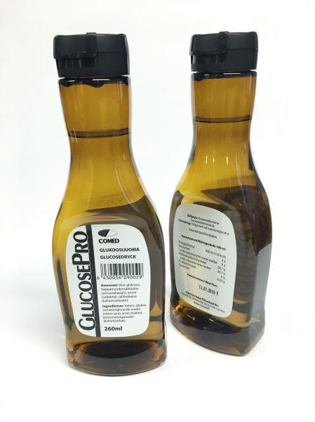 Drikk GlucosePro bringebær 260ml