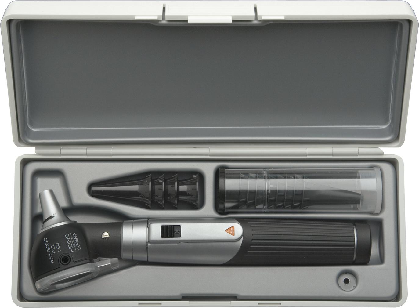 Otoskop Heine mini 3000 LED FO sett m/batterihånd