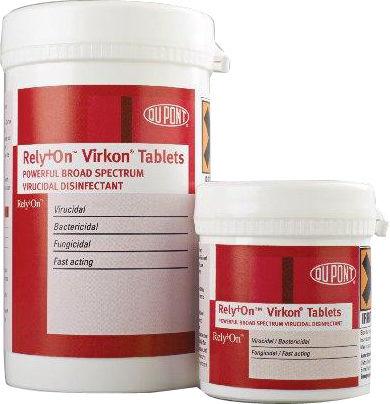 Desinfeksjon Virkon tabletter 5g 50stk
