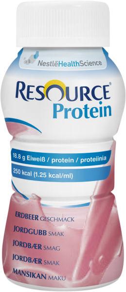 Drikk Resource protein jordbær 200ml