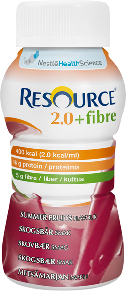 Drikk Resource 2.0+ fiber skogsbær 200ml