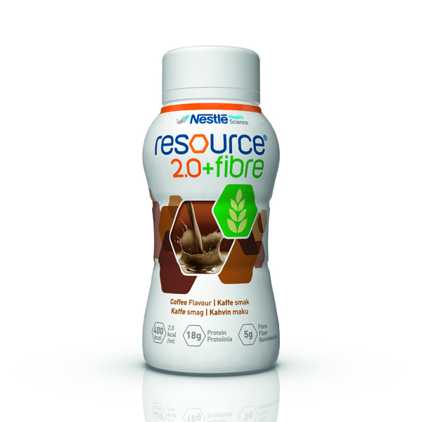 Drikk Resource 2.0+ fiber kaffe 200ml