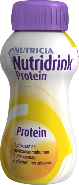 Drikk Nutridrink Protein aprikos 200ml 4pk