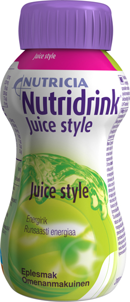 Drikk Nutridrink Juice style eple 200ml