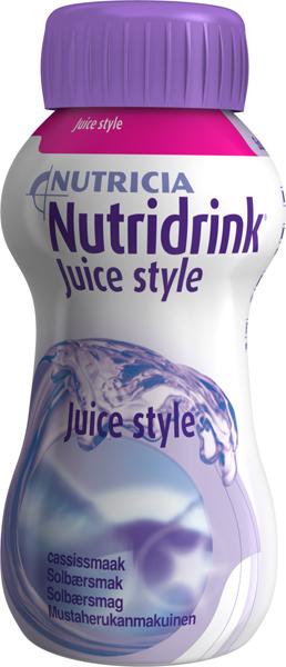 Drikk Nutridrink Juice style solbær 200ml