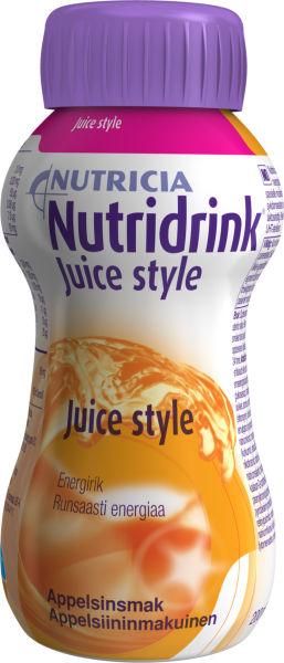 Drikk Nutridrink Juice style appelsin 200ml