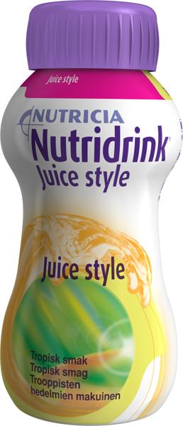Drikk Nutridrink Juice style tropisk 200ml