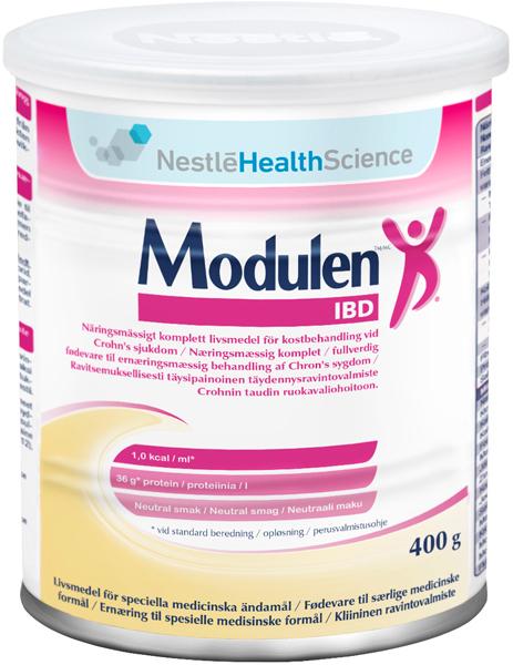 Tilskudd Modulen IBD neutral 400gr