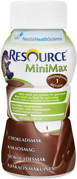 Drikk Resource MiniMax sjokolade 200ml