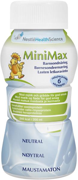 Sondemat MiniMax barn nøytral 200ml