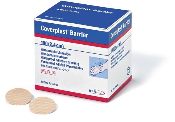 Plaster Coverplast Barrier rund 2,4cm