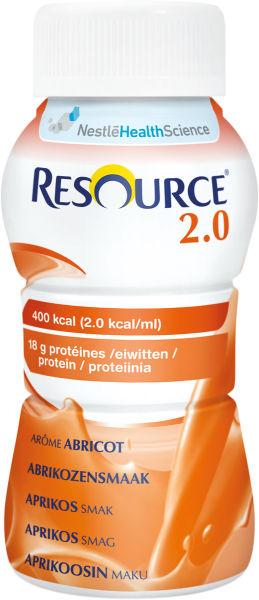Drikk Resource 2.0 aprikos 200ml