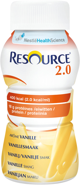Drikk Resource 2.0 vanilje 200ml
