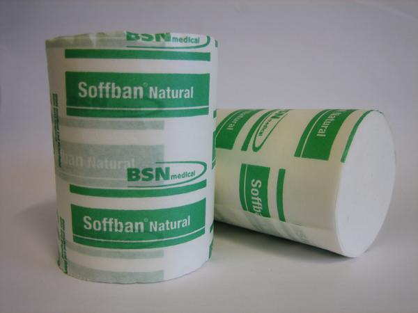 Gipspolstring natural Soffban grønn 20cmx2,7m