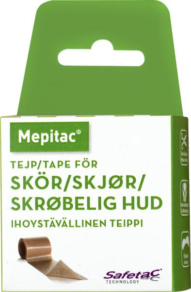 Tape fiksering Mepitac 2cmx3m