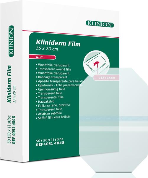 Bandasje transparent Kliniderm Film 15x20cm