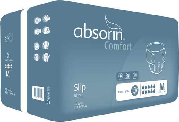 Bleie Absorin Comfort Slip Ultra M 15pk