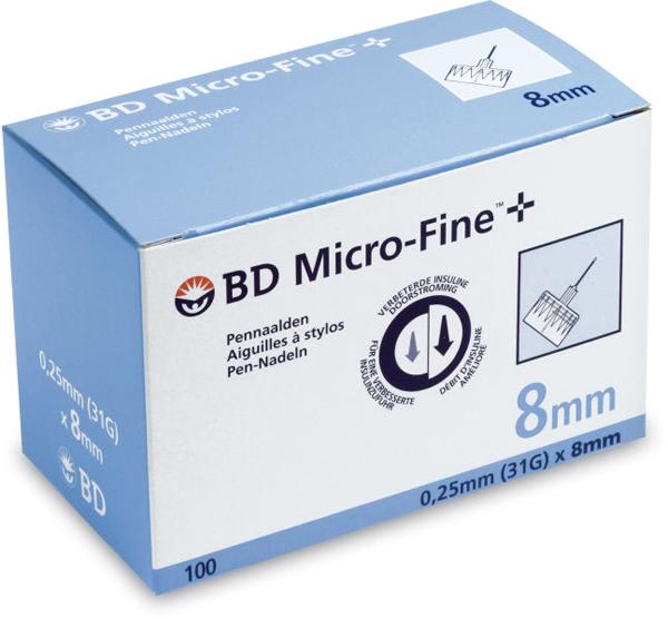 Kanyle til insulinpenn BD Microfine+ 31Gx8mm