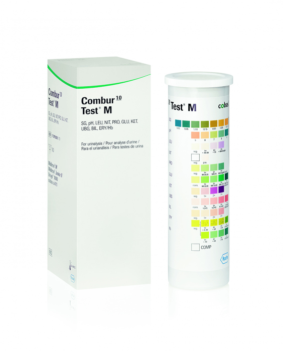 Combur 10 M test