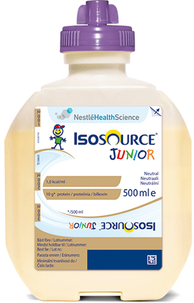 Sondemat Isosource Jr Nøytral 500ml
