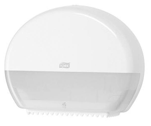 Dispenser Tork toalettpapir Mini Jumbo hvit