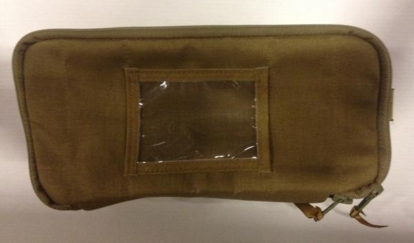 Førstehjelp lomme til ryggsekk/bag polstret CB M