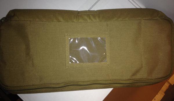 Førstehjelp lomme til ryggsekk/bag polstret CB L