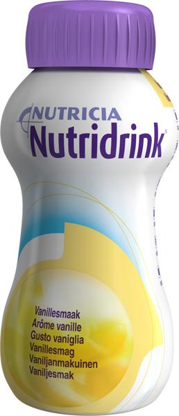 Drikk Nutridrink vanilje 200ml 4pk