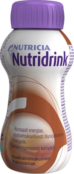 Drikk Nutridrink kakao 200ml