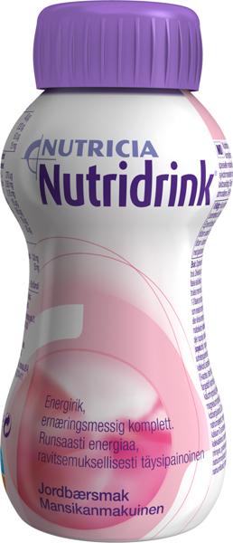 Drikk Nutridrink jordbær 200ml