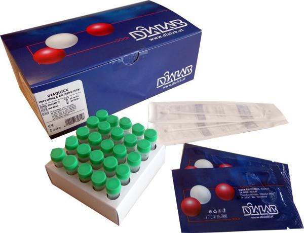 Diaquick Influenza A+B test