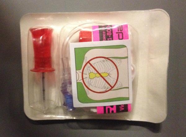 Nål intraossøs EZ-IO treningsnål voksen 25mm