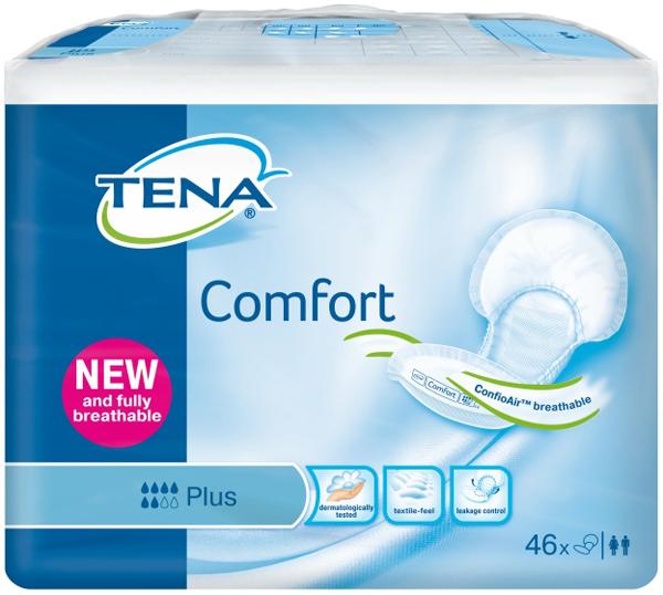 Bleie Tena Comfort Plus ConfioAir 46pk
