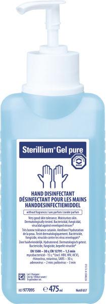 Hånddesinfeksjon Sterillium gel pure 85% m/pumpe 4