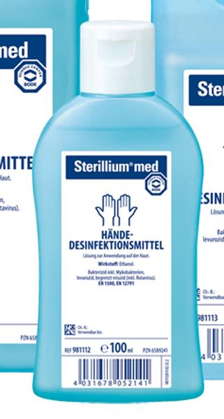 Hånddesinfeksjon Sterillium med 85% 100ml