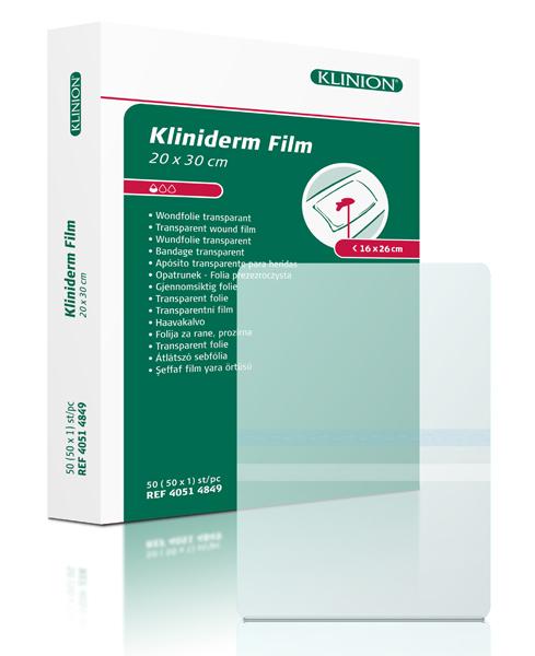 Bandasje transparent Kliniderm Film 20x30cm