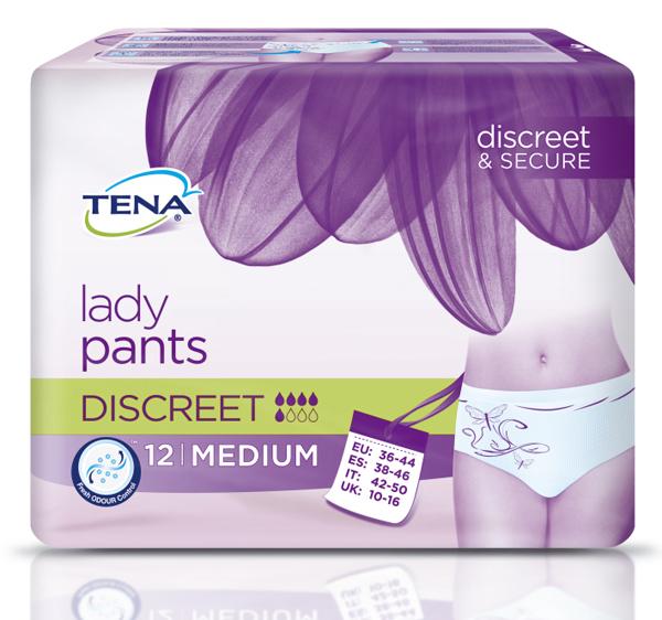 Bleie Tena Lady Pants Discreet M 12pk