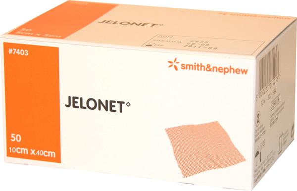 Kompress vaselin Jelonet 10x40cm