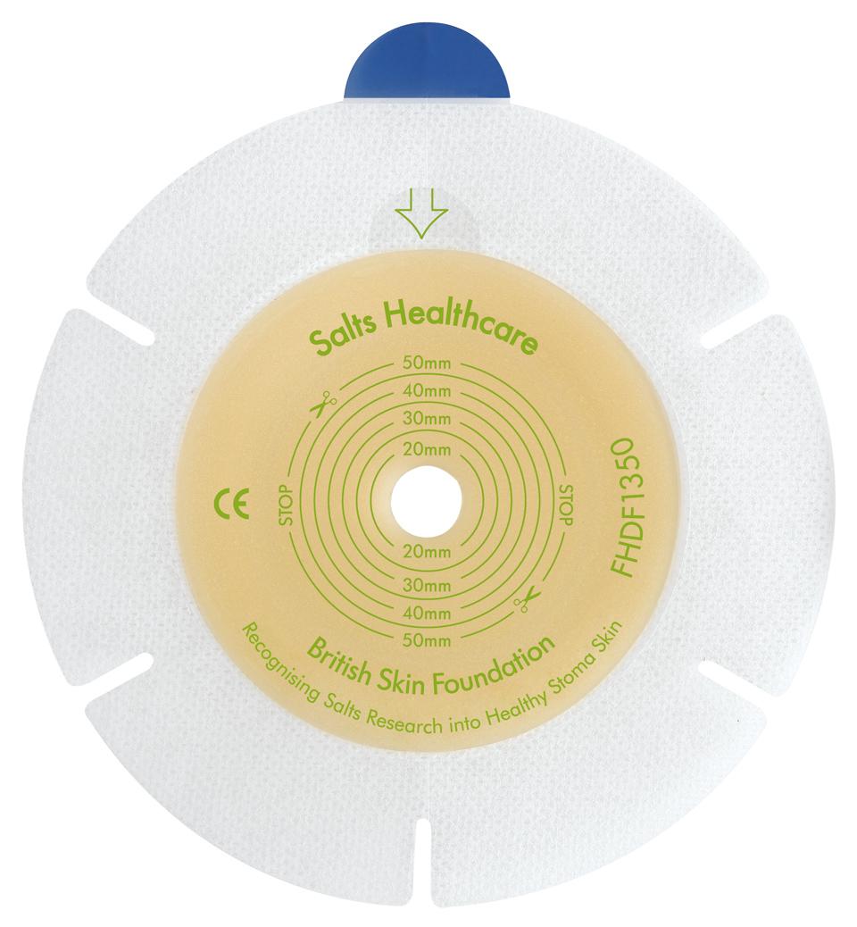 Plate 2 Salts Harmony Duo flexibel 21mm