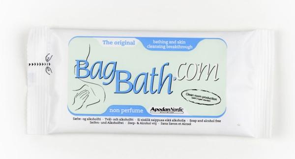 Våtklut BagBath u/parfyme 8pk