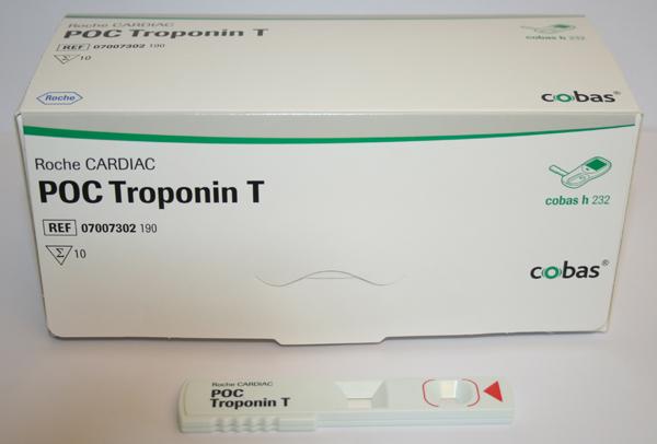 Cardiac POC Troponin T Cobas h 232