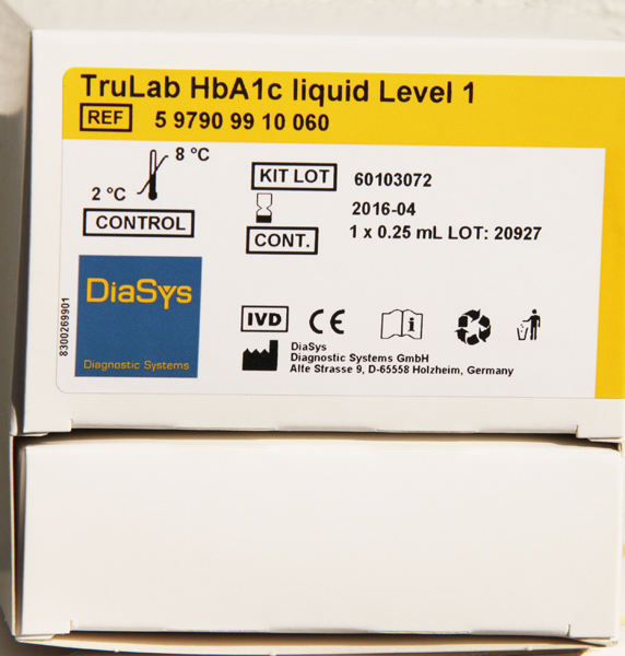 InnovaStar HbA1c kontroll Level 1 0,25ml