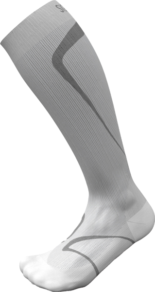 Sig løpesokk XL 39-42 1/2 lys grå
