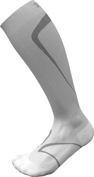 Sig løpesokk XL 43-46 1/2 lys grå