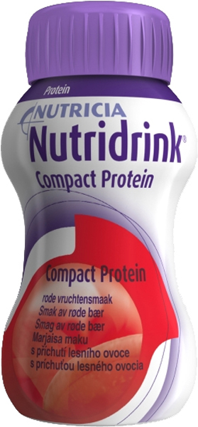 Drikk Nutridrink Compact Prot røde bær 125ml