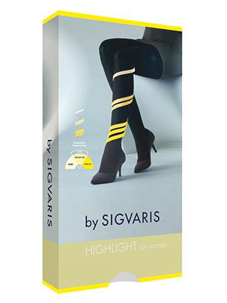Sig Highlight women AD m/tå XL/L sort