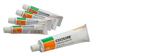 Sårsalve Iodosorb 4x10gr