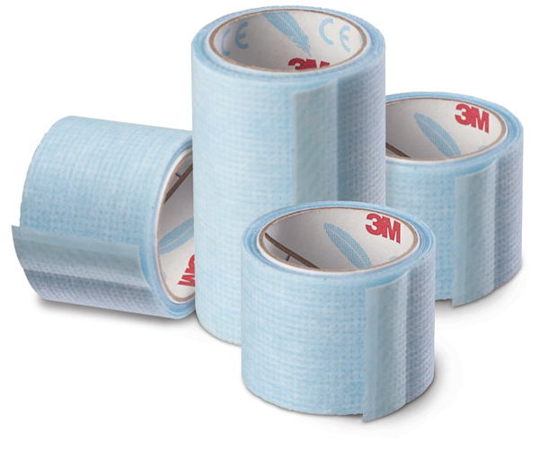 Tape kirurg silikon 3M Micropore 2,5cmx5m enkeltpk