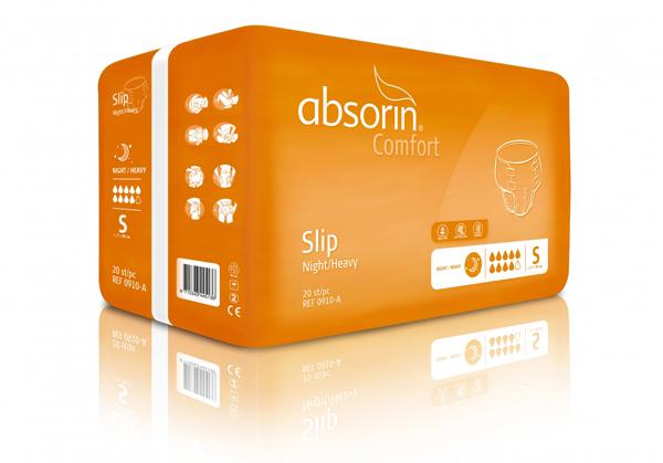 Bleie Absorin Comfort Slip Night/Heavy S 20pk
