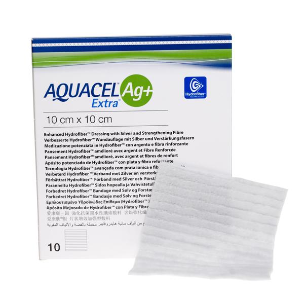 Bandasje sølv Aquacel AG+ Extra 15x15cm